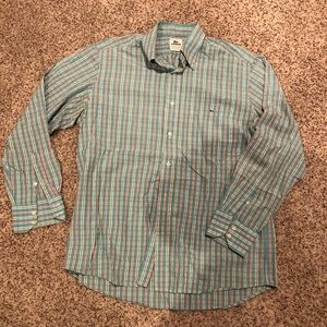 Men's Lacoste Button Down Dress Shirt